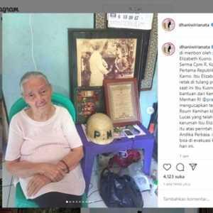 Kemhan Bantu Pengobatan Isteri Almarhum Ajudan Presiden Pertama RI Yang Alami Tulang Retak