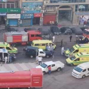 Kebakaran Di Rumah Sakit Rujukan Covid-19 Di Mesir , Tujuh Pasien Meninggal