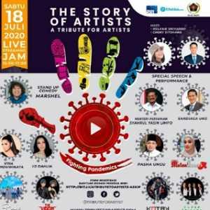 Sandiaga Uno Dan Syahrul Yasin Limpo Bakal Ramaikan Aksi Donasi PWI Jaya-Asosiasi Pekerja Seni 'The Story Of Artist'
