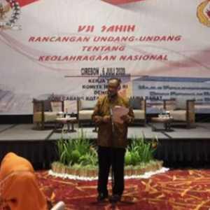 Di Kota Cirebon, DPD RI Gelar Uji Sahih RUU Keolahragaan Nasional