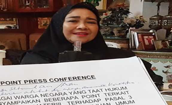 Rachmawati Menjawab Putusan MA