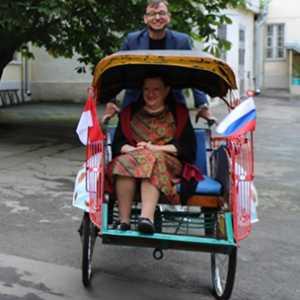 Ada Becak Asal Yogyakarta Di Moskow
