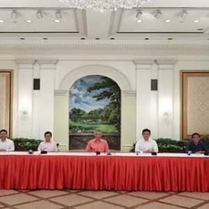 PM Lee Umumkan Susunan Kabinet Baru Singapura, Ada Tiga Menteri Yang Pensiun Dan 6 Wajah Baru