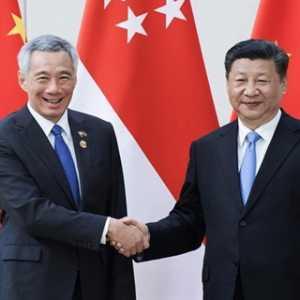 Presiden China Xi Jinping Ucapkan Selamat Atas Kemenangan PM Singapura, Siap Lanjutkan Kerja Sama