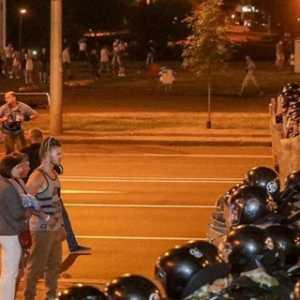 Aksi Protes Kemenangan Petahana Lukashenko, Seorang Pengunjuk Rasa Tewas Dan Puluhan Luka-luka