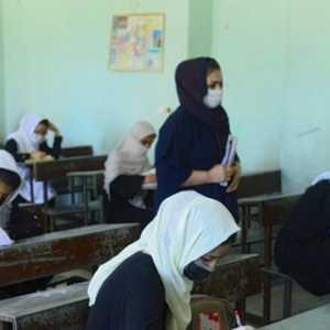 Berbulan-bulan Ditutup, Sekolah Di Afganistan Kembali Terima Para Siswa