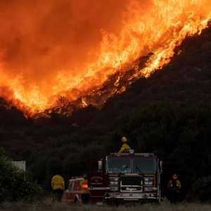 Si Jago Merah Meluluhlantahkan Hutan Dan Rumah, California Deklarasikan Keadaan Darurat