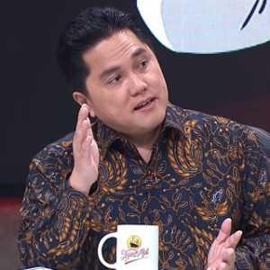 Erick Thohir Coba Menjawab Adian Napitupulu: Bekerja Bukan Untuk Dipuji