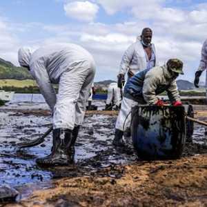 Jepang Akan Kirim Tim Ahli Bantu Atasi Tumpahan Minyak Mauritius