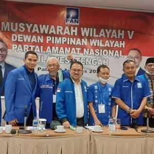 Pasha Ungu Dan Wakil Gubernur Berebut Pimpin PAN Sulteng