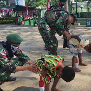 Semarakkan HUT RI, Kostrad Gelar Perlombaan Di Perbatasan Indonesia-Papua