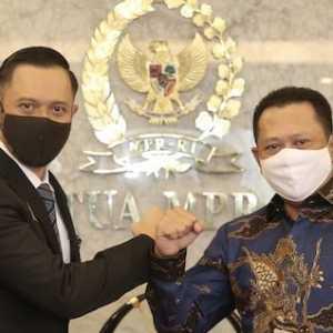 AHY Dan Bamsoet Sepakat Indonesia Butuh Saling Merangkul