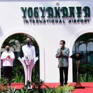 Resmikan Bandara YIA, Jokowi Optimis Bisa Penumpang Penuh Pasca Vaksinasi Corona