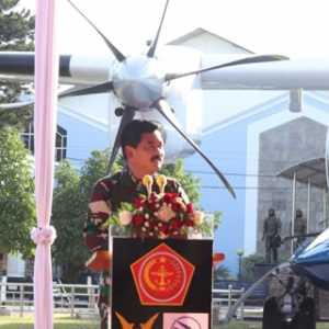 Resmikan Monumen Pesawat N250 Gatotkoco, Panglima TNI Berharap Perjuangan Pak Habibie Dilanjutkan