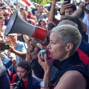 Tokoh Oposisi Belarusia Maria Kolesnikova Diduga Diculik Pria Misterius Bertopeng