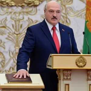 Gelar Upacara Rahasia, Alexander Lukashenko Dilantik Jadi Presiden Belarusia