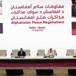 Demi Capai Perdamaian, Pemerintah Afganistan Dan Taliban Bentuk Working Group