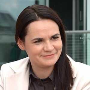 Svetlana Tikhanovskaya  Desak Presiden Macron Ikut Andil Bereskan Masalah Belarusia