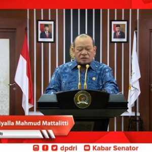 Ketua MPR: DPD Perlu Jadi Penyeimbang DPR Dan Pemerintah