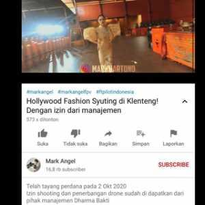 Lieus Sungkharisma Marah, Ruang Ibadah Klenteng Dharma Bhakti Dipakai Syuting Fashion Show