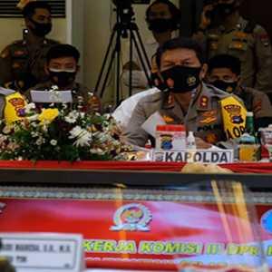 Kunker Komisi III DPR RI, Kapolda Kalsel Paparkan Strategi Penanganan Covid–19 Dan Keberhasilan Pengungkapan Kasus