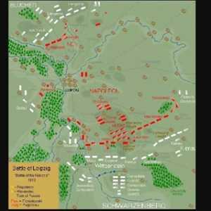 Pertempuran Leipzig, Berakhirnya Kekuatan Prancis Dan Kekalahan Napolen Atas Wilayah Eropa