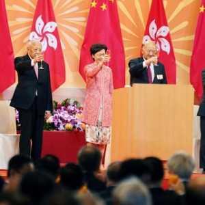 Puji UU Keamanan Nasional, Carrie Lam: Stabilitas Hong Kong Telah Kembali