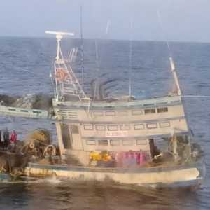 Dua Kapal Pencuri Ikan Asal Vietnam Ditangkap Di Perairan Natuna