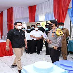 Serius Cegah Covid-19, Kapolda Kalsel dan Tim Lakukan Peninjauan Tempat Karantina Khusus di Tapin