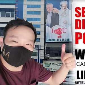 Tetap Pasang Baliho Habib Rizieq, Warung Makar Milik Tokoh Tionghoa Akhirnya Ditutup