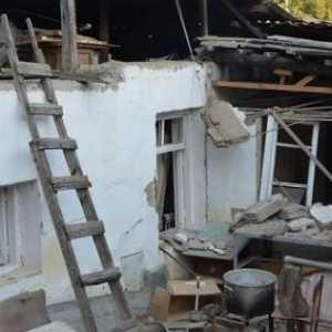Stepanakert Lagi-lagi Jadi Target Serangan Azerbaijan, Kerusakan Parah Terlihat Di Pemukiman Warga