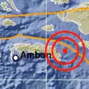 Maluku Diguncang Gempa M 5,2 Selasa Dini Hari