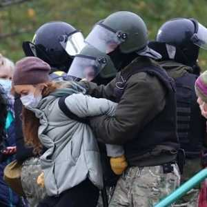 Belarusia Kembali Rusuh, Lebih Dari Seribu Pengunjuk Rasa Ditangkap
