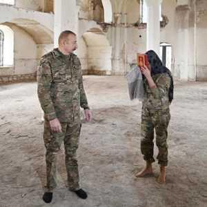 Sempat Dijadikan Armenia Kandang Babi, Presiden Ilham Aliyev Kembalikan Kesucian Masjid Agdam