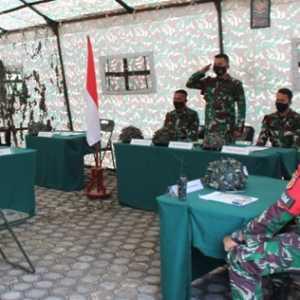 TNI Gelar Simulasi Sidang Pertempuran