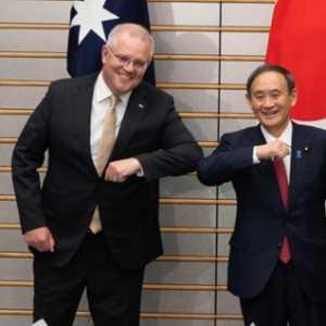 Australia-Jepang Sepakat Untuk Pakta Pertahanan Bersejarah, Morrison: China Tidak Perlu Takut