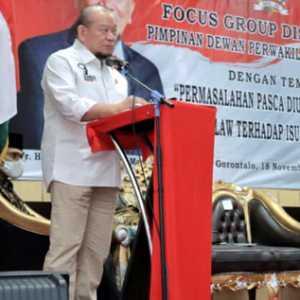 Dukung Omnibus Law, Ketua DPD RI: Jika Indonesia Ingin Maju, Maka Daerah Harus Maju