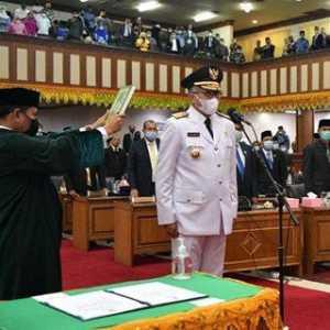 Resmi Jabat Gubernur Aceh, Nova Iriansyah Sempat Singgung Irwandi Yusuf