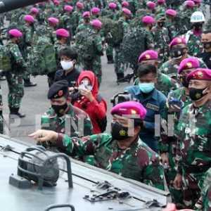 Marsekal Hadi Sidak Tiga Markas Komando Pasukan Khusus TNI