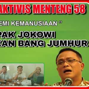 Kritik Tidak Perlu Ditanggapi Dengan Penangkapan, FAM 58 Minta Presiden Jokowi Bebaskan Jumhur Hidayat
