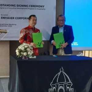 Tingkatkan Kualitas Pendidikan, Kalbis Institute Jalin Kerjasama Dengan Enhaiier Corporation
