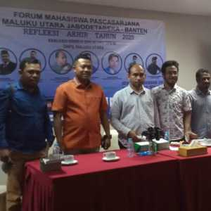 Formapas Gelar Refleksi Akhir Tahun 2020, Senator Asal Maluku Utara Dinilai Gagal