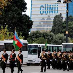 Dihadiri Erdogan, Azerbaijan Rayakan Kemenangan Dengan Kemeriahan Parade Militer