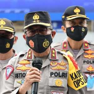 Tim Pamatwil Pengamanan Nataru 2020 Resmi Dilepas Kakorlantas Polri