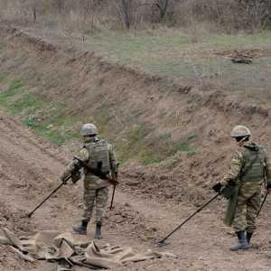 Seorang Warga Azerbaijan Tewas Terkena Ranjau Darat Armenia Di Karabakh