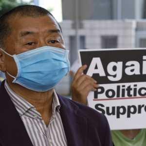 Dituding Terlibat Penipuan,  Bos Media Pro-Demokrasi Hong Kong Jimmy Lai Ditahan Polisi