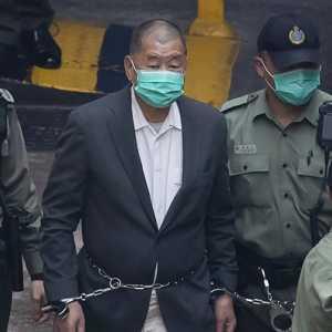 Kecam Kriminalisasi Jimmy Lai, Menlu Pompeo: UU Keamanan Nasional Hong Kong Mengejek Keadilan