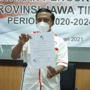 Dilantik Sebagai Ketum FOPI Pengprov Jatim, Prof Nurhasan: Semoga Makin Banyak Bibit Unggul Yang Muncul