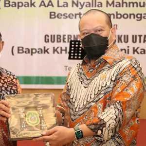 Gelar Ramah Tamah, Gubernur Maluku Utara Sampaikan Keluhan Pembangunan Kepada Ketua DPD RI