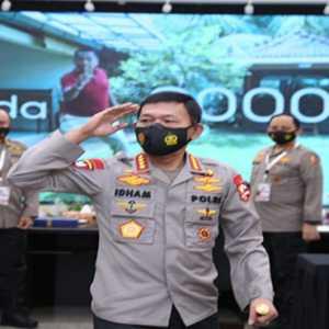 32 Polisi Berprestasi Dinaikan Pangkatnya Sama Kapolri Idham Azis